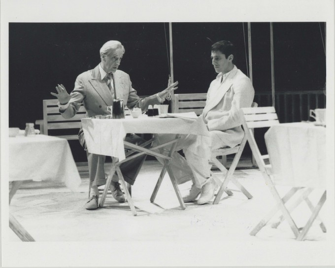 Production Photograph - Point Valaine - Edward Petherbridge, Peter Wingfield - Photographer John Haynes - 1991 H20cm W25.5cm 1 of 2