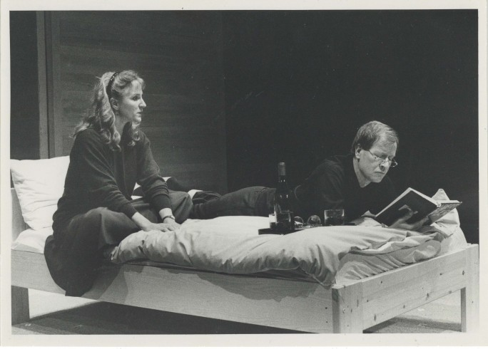 Production Photograph - Scenes from a Marriage - Alan Howard, Penny Downie - Photographer Paul Carter - 1990 - H17cm W24cm 1 of 2