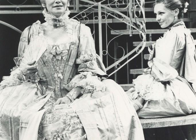 Production Photograph - The Inconstant Couple - Sian Phillips, Morag Hood - Photographer Sophie Baker - 1978