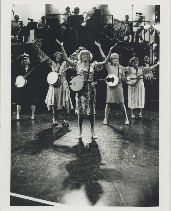 Production photograph - 70, Girls, 70 - Dora Bryan - photographer Paul Carter - 1990 - H25.5 x W20 - 1 of 2