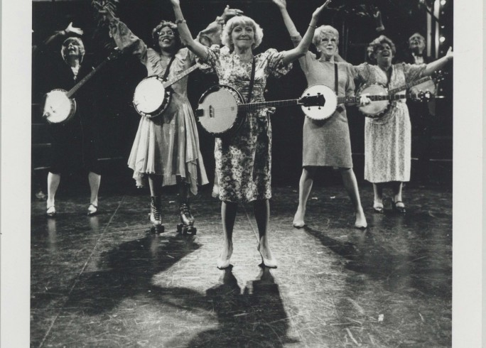 Production photograph - 70, Girls, 70 - Dora Bryan - photographer Paul Carter - 1990 - H25.5 x W20 - 1 of 2