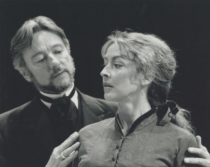 Production photograph - A Doll's House - Sharon Maughan, Peter McEnery - photographer John Timbers - 1994 H20 x W25.5 - 1 of 2