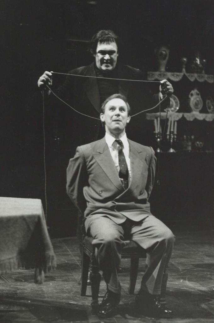 Production photograph - Arsenic and Old Lace - Peter Davison- Photographer Simon Annand - 1991 - H20cm x W25.5cm - 1 of 2