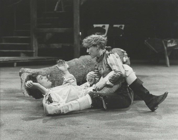 Production photograph - As You Like It - Patricia Hodge, Jonathan Morris - Photographer Reg Wilson - 1983 - H20.5cm x W25.5cm - 1 of 2