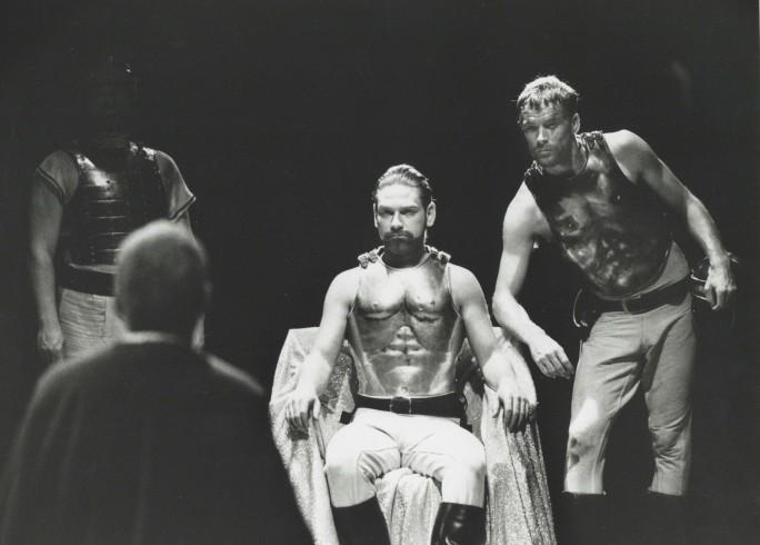 Production photograph - Coriolanus - Kenneth Branagh, Iain Glen - Photographer Richard Smith - 1992 - Dimensions unknown