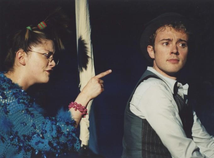 Production photograph - Julie Atherton, Richard Dempsey - Just So - 2004 - Photographer Clare Park