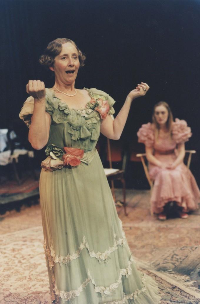 Production photograph - The Glass Menagerie - Gemma Jones - Photographer Tristram Kenton - 1998 - H25.3x W20.5cm