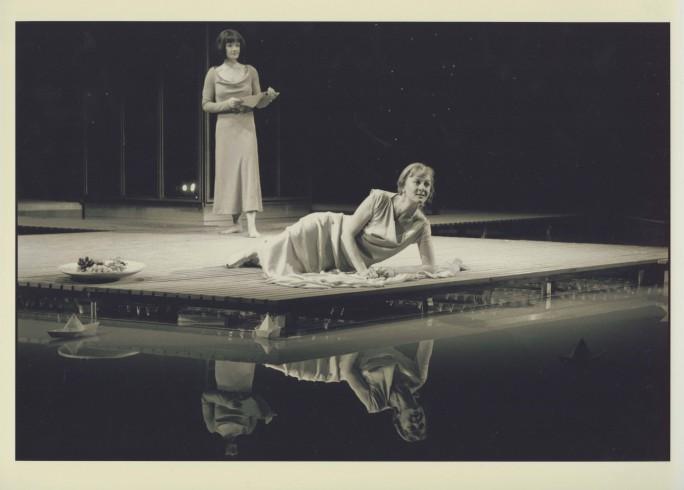Production photograph - The Merchant of Venice -  Niamh Cusack - 2003 - Photographer Ivan Kyncl - H29.7xW42cm 2 of 2