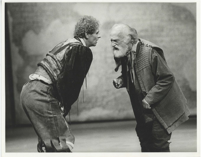 Production photograph - The Merchant of Venice - Photographer Stephen MacMillan - 1984 - H24xW30.5cm - 1 of 2