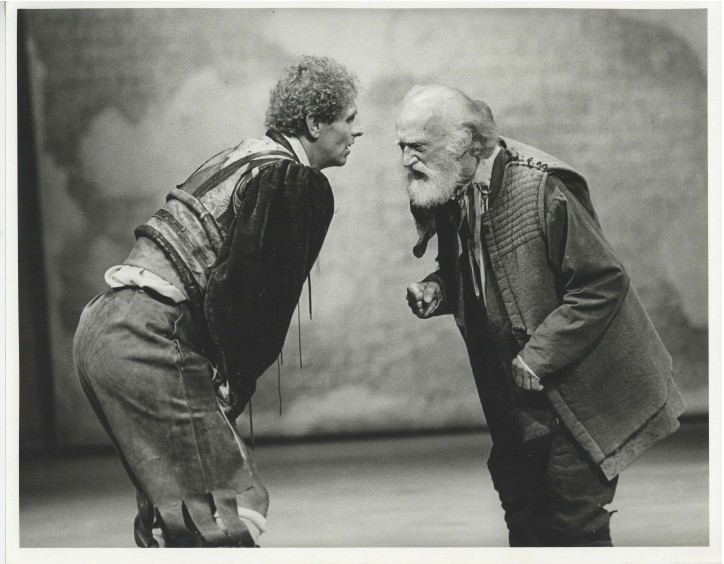 Production photograph - The Merchant of Venice - Photographer Stephen MacMillan - 1984 - H24xW30.5cm - 1 of 2