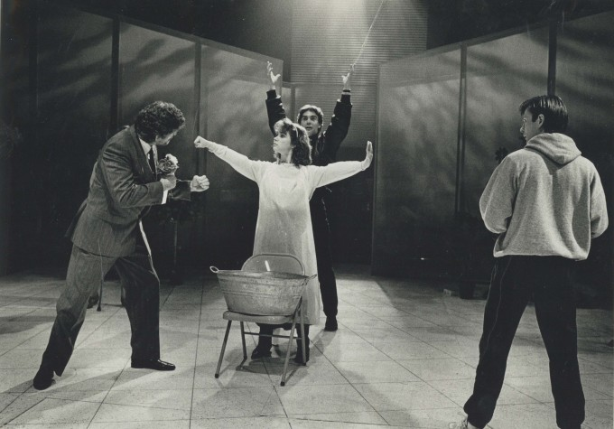 Production photograph - The Purity Game - Photographer unknown - 1989 - H21.5xW30cm