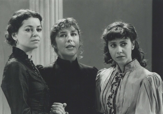 Production photograph - Three Sisters - Suzan Syvestra, Lucy Tregar, Laurel Lefkow - Photographer John Timbers - 1994 H20 x W25.5 1 of 2