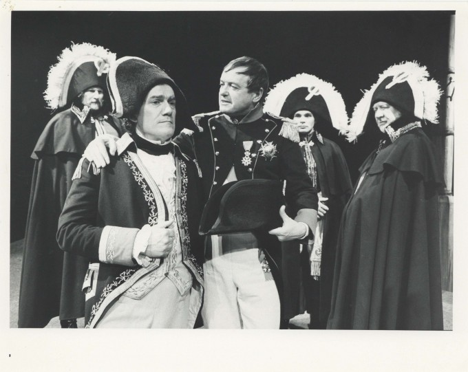 Production photograph - Victory - Michael Bulman, James Bolam - Photographer Reg Wilson - 1989 - H20.2x W25.4cm - 1 of 2