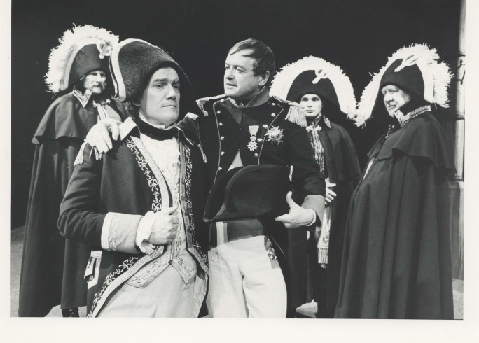 Production photograph - Victory - Michael Bulman, James Bolam - Photographer Reg Wilson - 1989 - H20.2x W25.4cm - 1 of 2
