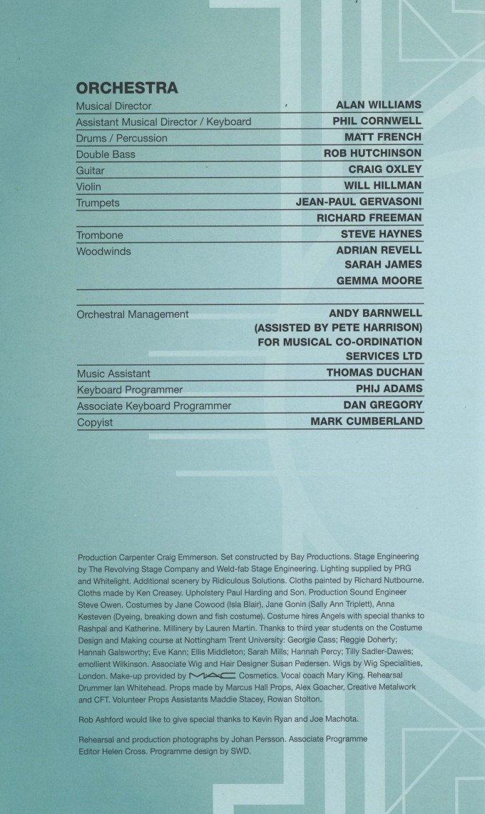 Cast List - Damsel in Distress - 2015 - 3 of 4