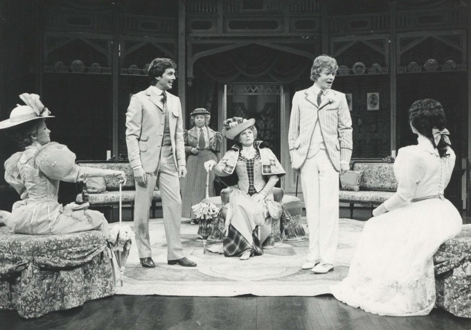 Production Photograph - The Importance of Being Earnest - Hayley Mills, Ian Ogilvy, Patsy Byrne, Googie Withers, Michael Cochrane, Mel Martin - Photographer Sophie Baker - 1979