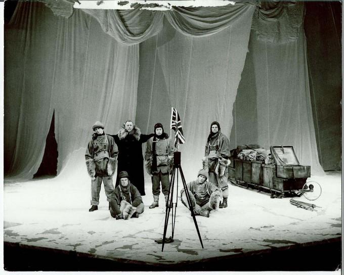 Production photograph - Terra Nova - Company - Photographer Zoe Dominic - 1980 - 1 of 2