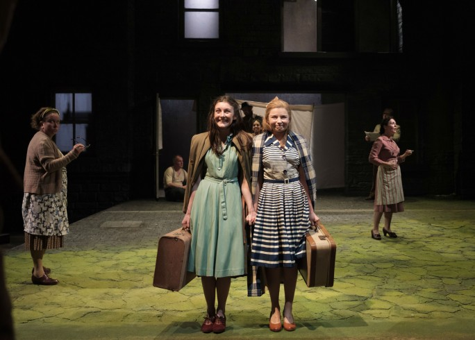 Production photograph - The Country Girls - Grace Molony & Genevieve Hulme-Beaman - Photographer M Harlan - 2 of 5