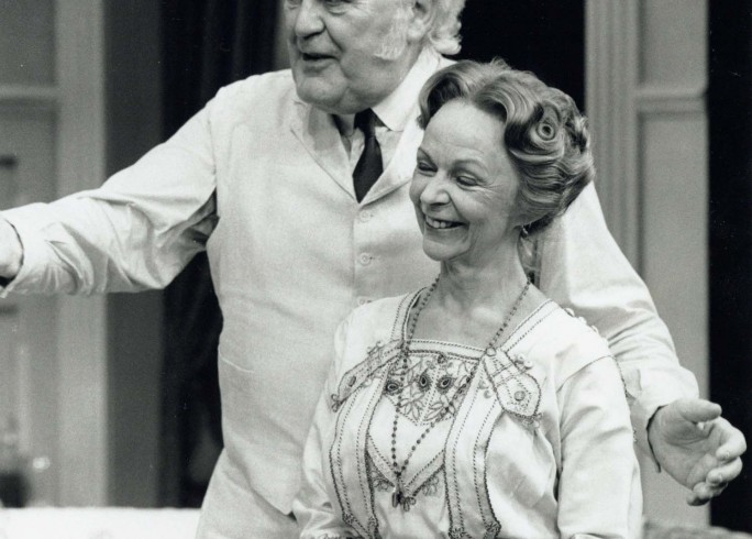Production photograph - Misalliance - Joss Ackland, Sheila Reid - Photographer John Timber - 1997 - H25xW20cm 1 of 2