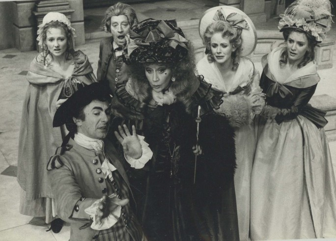 Production photograph - The Rivals - Photographer John Timbers - 1971 - H17xW24.5cm - 1 of 2