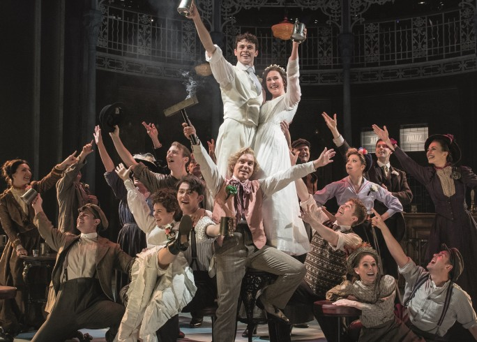 Production Photograph - Half a Sixpence - Charlie Stemp and Devon-Elise Johnson - Photographer Manuel Harlan - 2016