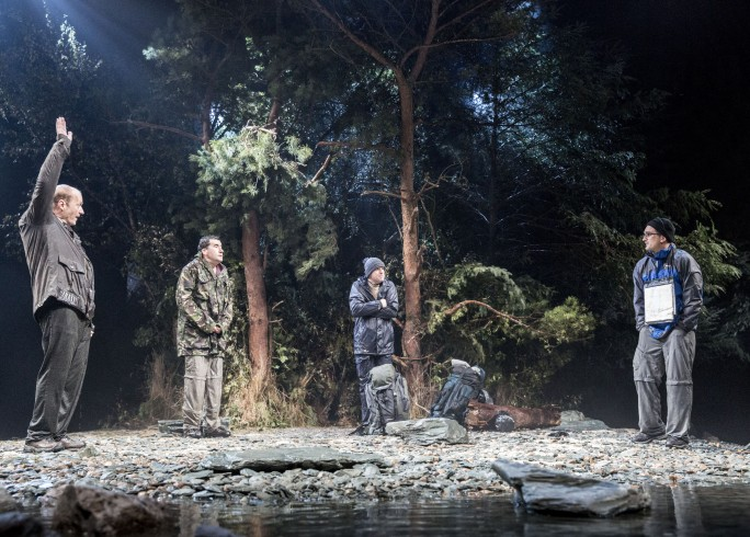 NEVILLE'S ISLAND by Firth,      , Writer – Tim Firth, Director – Angus Jackson, Chichester Festival Theatre, 2013, Credit: Johan Persson/