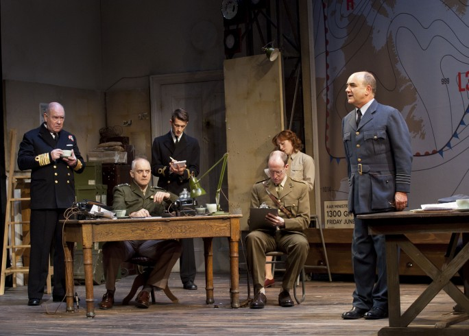 Production Photograph - Pressure - Malcolm Sinclair, Scott Gilmour, Anthony Bowers, Laura Rogers, David Haig - Photographer Drew Farrell - 2014