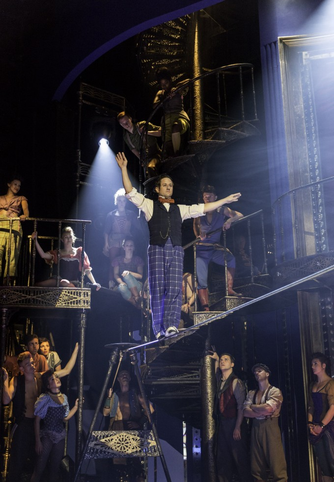 BARNUM,            ,  Music -  CY COLEMAN, Lyrics - MICHAEL STEWART , Book – Mark Bramble, Director – Timothy Shreader, Co- director – Liam Steel, Co – choreographer – Andrew Wright, Chichester Festival Theatre, 2013, Credit – Johan Persson/