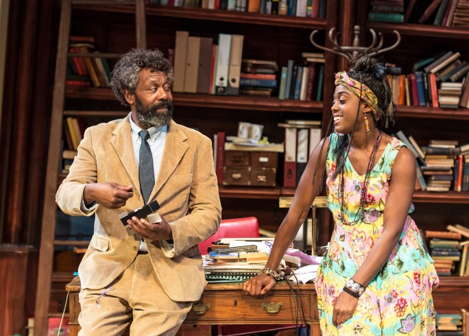 Production photograph - Educating Rita - Lenny Henry, Lashana Lynch - Photographer Manuel Harlan - 2015 - 5 of 6