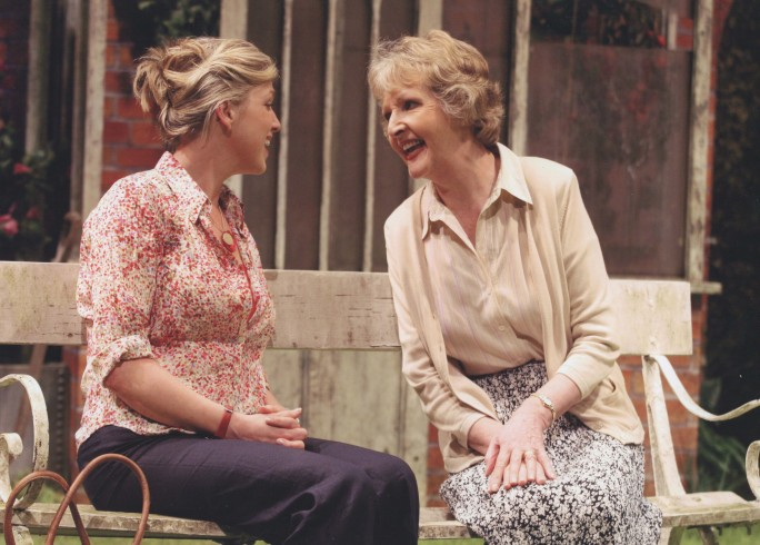 Production Photograph - Entertaining Angels - Penelope Keith, Caroline Harker - Photographer Robert Day - 2006