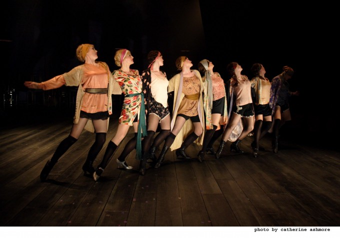 Production photograph - Funny Girl - photographer Catherine Ashmore - 2008 - (4)