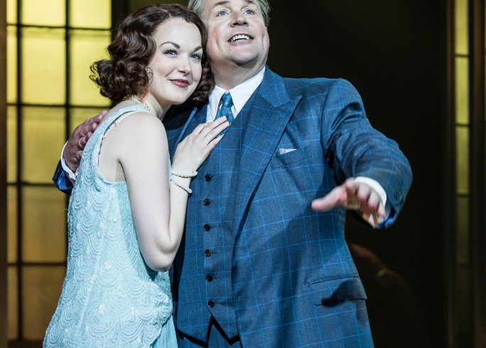 Production photograph - Mack and Mabel - Rebecca LaChance, Michael Ball - Photographer - Manuel Harlan - 2015 - 1 of 3