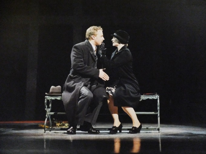 Production photograph - The Master and Margarita - Samuel West - Photographer Clare Park - 2004