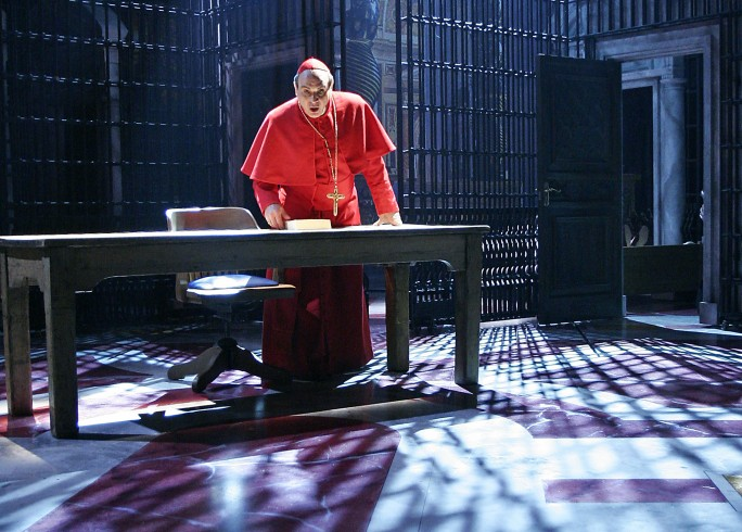 Production photography - The Last Confession - David Suchet - Photographer John Haynes - 2007 - 2 of 2