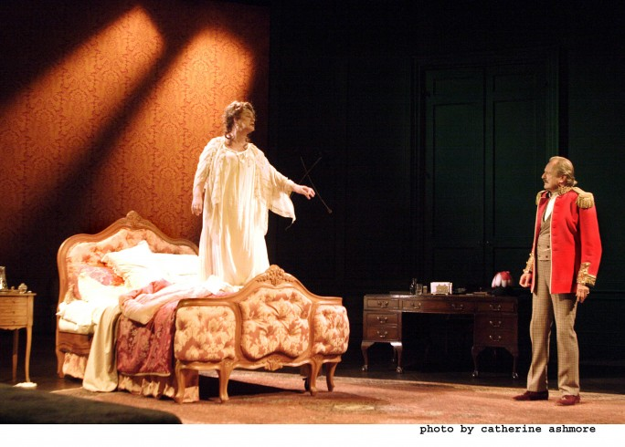 Production photography - The Waltz of the Toreadors - Maggie Steed, Peter Bowles - Photographer Catherine Ashmore - 2007